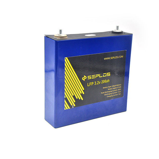 LiFePO4 3.2v 205ah Ess Battery 48*174*170 mm For Solar Energy Storage System